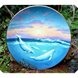 A Casey White Whale of the North Save the Whales Plate