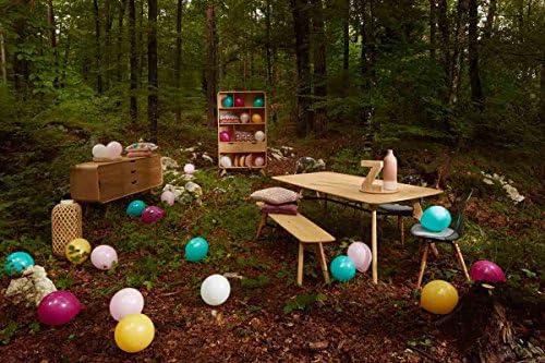 Mesa comedor roble y metal 150 x 90 cm Flow: Amazon.es: Hogar