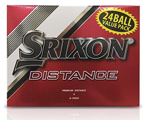 Srixon Distance Golf Balls, White (24 Ball Pack)