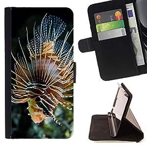 Momo Phone Case / Flip Funda de Cuero Case Cover - Majestic Coral Fish - LG G3