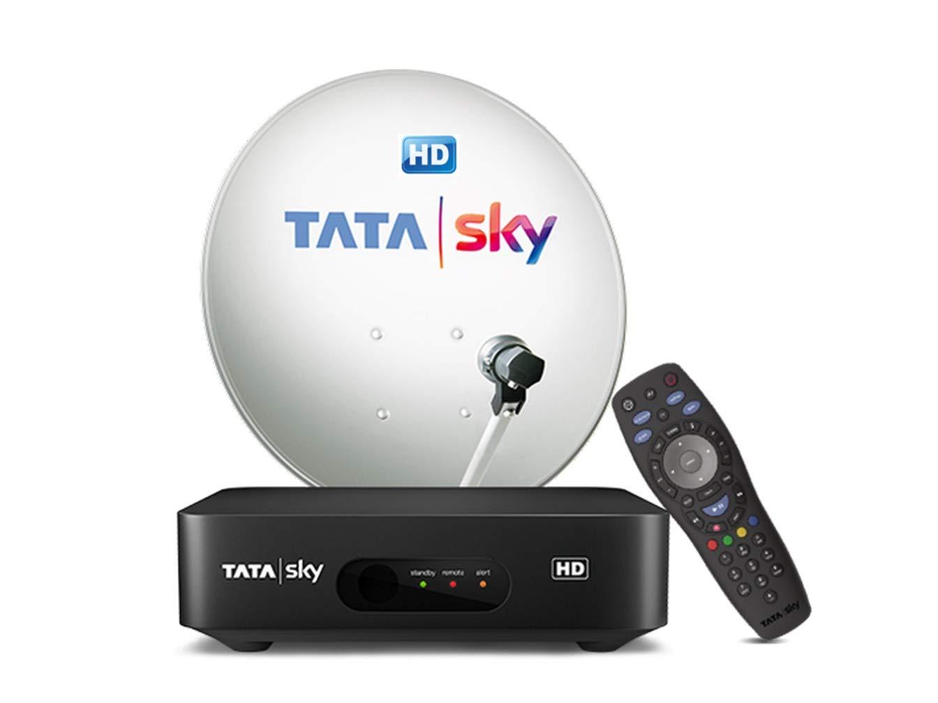 Tata Sky Hd Set Top Box 1 Month Hd Family Kids Sports Amazon In Electronics