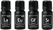 Vitruvi Essentials kit Essential Oil Starter kit, Lavender, Eucalyptus, Grapefruit, Spruce, 4X 10ml Bottles, 4 Count