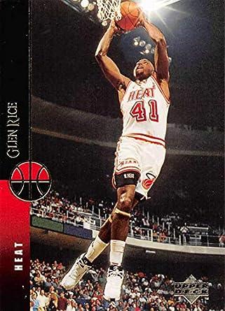 pretty nice ec494 74d2e Amazon.com: 1994-95 Upper Deck Basketball #333 Glen Rice ...