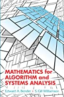 Mathematics for Algorithm and Systems Analysis Front Cover