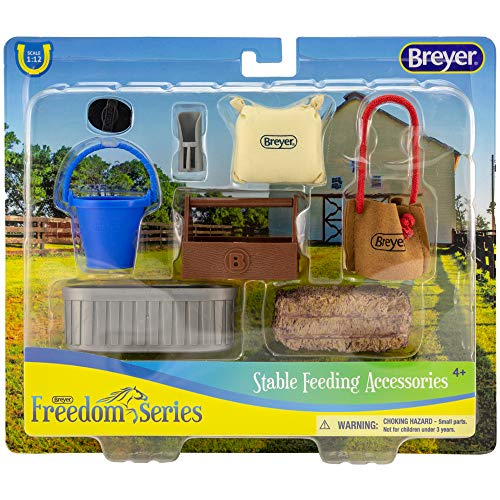 Breyer Classics Stable Feeding Horse Accessories