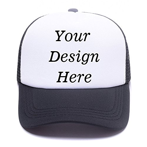 RR&DDXU Customize Your Own Design Text, Photos, Image Logo Adjustable Hat Hiphop Hat Baseball Cap
