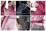 TSLA Women's Outdoor Raincoat Water-Proof Gear Rain Defender Packable Jakcet