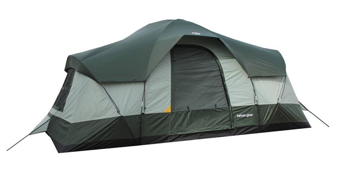 Amazon.com  Tahoe Gear Olympia 10-Person 3-Season Family C&ing Tent (Green)  Sports u0026 Outdoors  sc 1 st  Amazon.com & Amazon.com : Tahoe Gear Olympia 10-Person 3-Season Family Camping ...