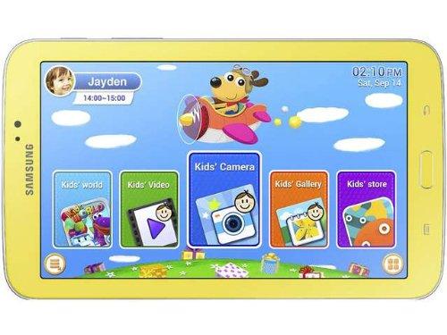 (Samsung Galaxy Tab 3 SM-T2105 Kids (SM-T2105) Yellow - 8GB, No Gel Case, 7
