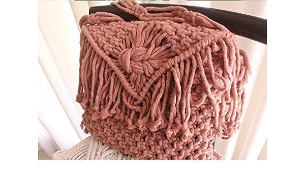 Pati\u2019s summer bag collection Shoulder Bag Macrame crossbag Macrame Handmade Macrame boho bag Waist bag
