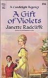 Gift of Violets, Janette Radcliffe, 0440128919