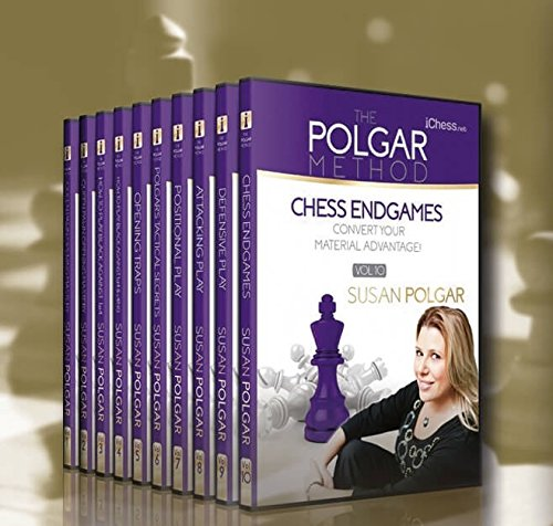 The Polgar Method - 3 DVDs Chess DVD by iChess.net