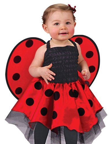 Fun World Girls 'Baby Ladybug' Toddler Costume