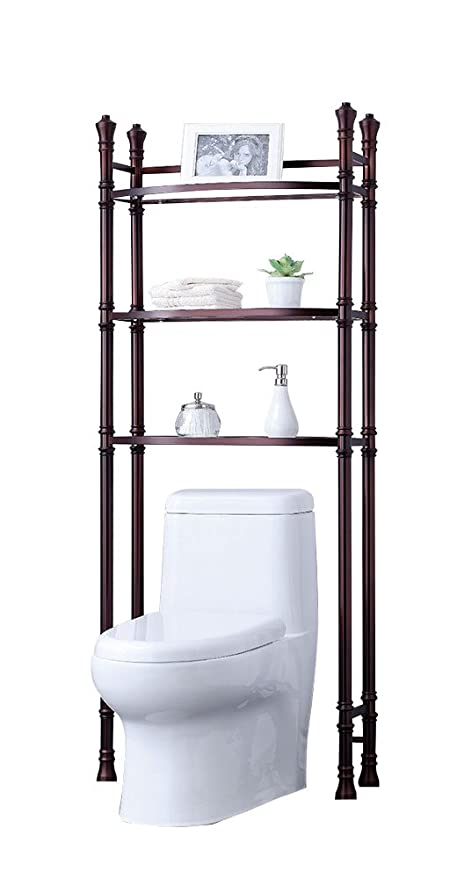 Amazon.com: Best Living Monaco Bathroom Space Saver Etagere Shelf ...