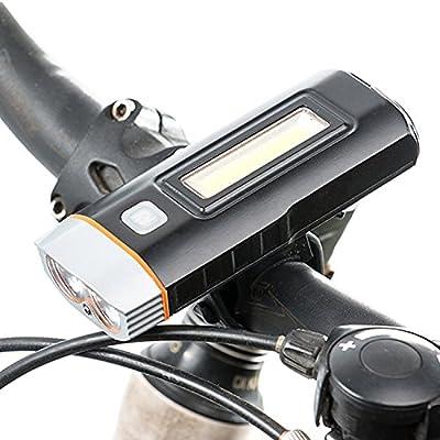 West ciclismo USB Batería Set de luces para bicicleta potente ...
