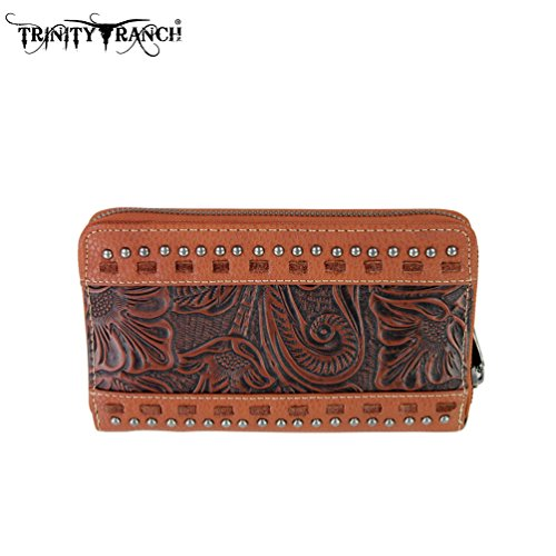 tr20-w003-montana-west-trinity-ranch-tooled-design-wallet-brown