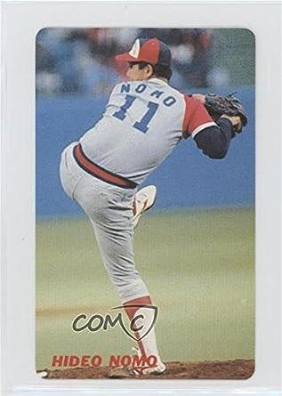 Amazoncom Hideo Nomo Baseball Card 1991 Calbee Base