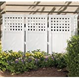 Suncast Outdoor Screen Enclosure - Tall Privacy Fence