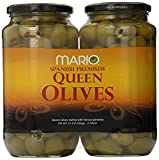 Mario Spanish Premium Stuffed Queen Olives 21oz Each( 2 pack )