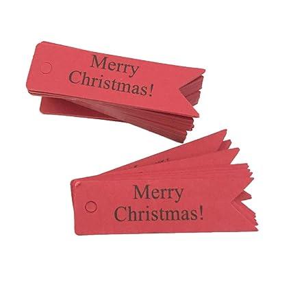 Amazon.com: MomeChristmas - 100 etiquetas de Navidad para ...