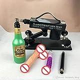 one pcs new Updated Version Female masturbation automatic retractable pumping gun for women, thrusting dildo,Adjustable speed sex machine for man