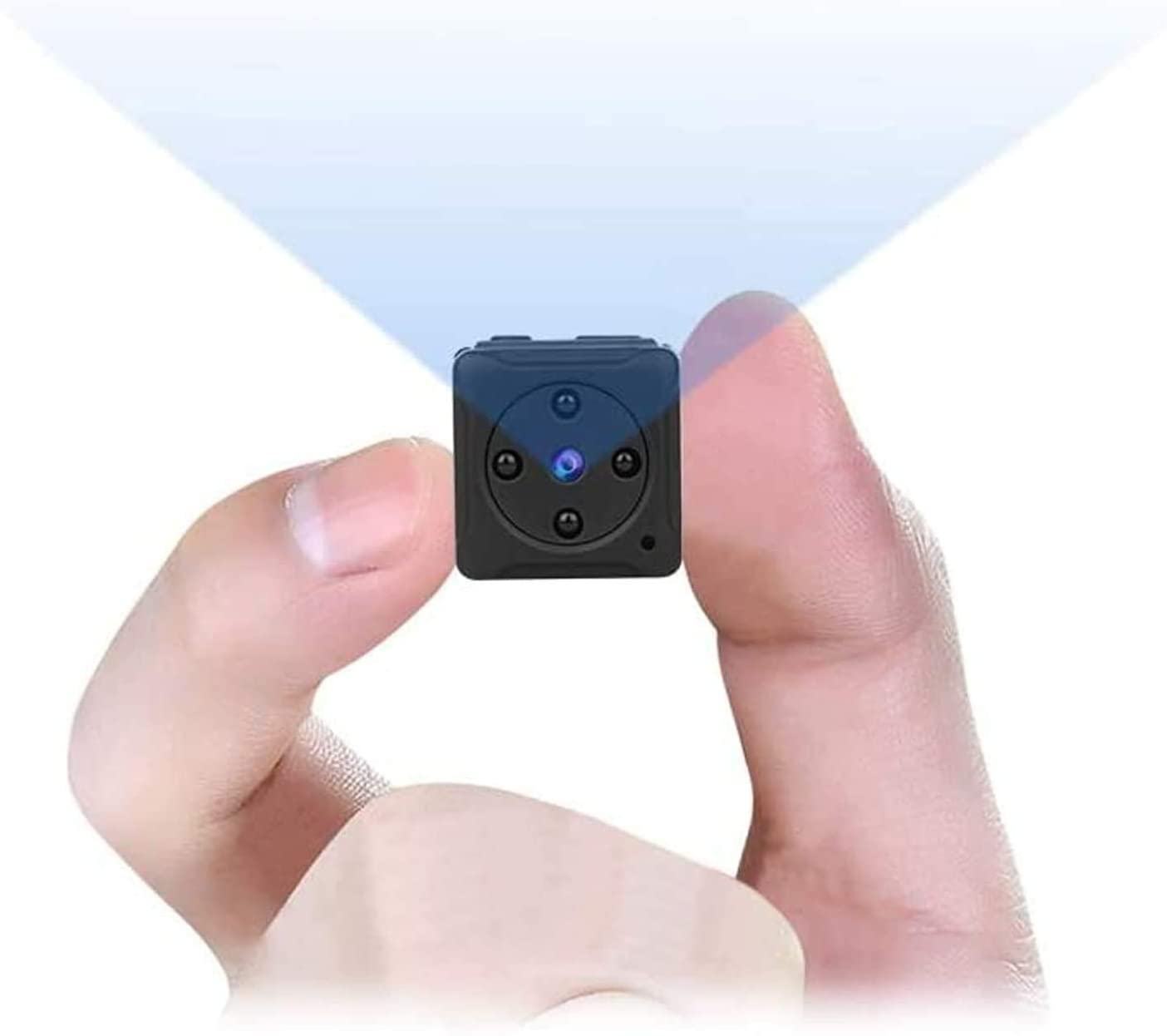 Mini Spy Camera Wireless Hidden Small Nanny Cam Micro Security Pinhole Covert Cameras Hd 1080P Night Vision For Home Outdoor Recording