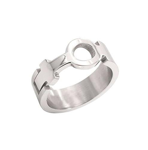 Amazon Venus Female Symbol Cut Out Sculpted Ring Lesbian