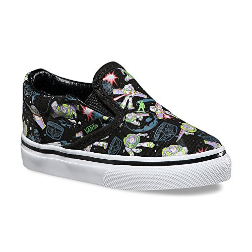 58f7aa4e4a Galleon - Vans Kids Classic Slip-On (Toy Story) Skate Sneakers