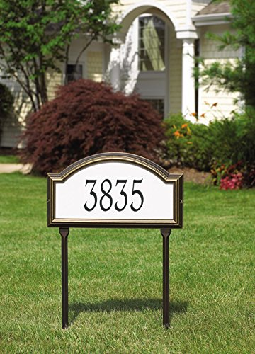 Custom Providence Arch REFLECTIVE LAWN Plaque 17