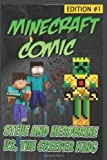 Minecraft Comic Book: Steve and Herobrine vs. the Creeper King - Edition #1, Minecraft Novels, 1499505507