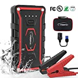 Car Jump Starter,Portable Jump Starter 1500A Peak 20000mAH(All Gas and 7L Diesel) 12V UL Certified Safe Car Jumper Power Pack with Smart Jump Cable Built-in LED Light Lithium Jump Starter