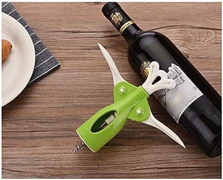 Cork Hogar multifuncional completo del sacacorchos del vino y la botella de cerveza del sacacorchos adecuados for la cocina Restaurante Bar