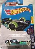 Hot Wheels 2016 Glow Wheels F1 Racer Metallic Midnight Blue 47/250