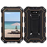 7IP68 Rugged Tablet PC, 4G LTE GSM/WCDMA Smartphone, Google Android 5.1 HD Screen, Quad Core, Waterproof,Shockproof and Dustproof,Dual Camera,GPS,FM,Bluetooth,Wifi Supported, Black