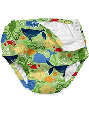 Swim Diaper,18 Months,Classic Lime Sealife