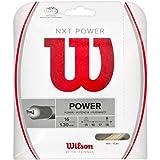 #3: Wilson NXT Power 16 Gauge Multifilament Tennis String in Multi-Packs (2-4-6-8-Packs)