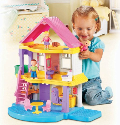 top 10 best fisher price dollhouses for toddlers best of 2018 reviews no place called home. Black Bedroom Furniture Sets. Home Design Ideas