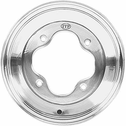 ITP X174144 A-6 Pro Series Wheel - 10x7 - 4+3 Offset - 4/144 - Polished, Bolt Pattern: 4/144, Rim Offset: 4+3, Wheel Rim Size: 10x7, Color: Polished, Position: Rear