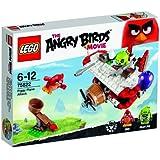 Lego 75822 Angry Birds - L'Attacco Sull'Aereo Del Maiale