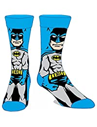 Batman Comic Superhero 360 Crew Socks