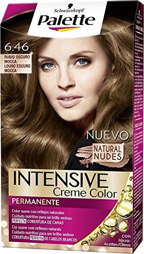 🥇 Palette Intense – Tono 6.46 Rubio Oscuro Mocca- 2 uds – Coloración Permanente – Schwarzkopf