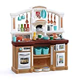 Step2 Fun with Friends Kitchen | Large Plastic Play Kitchen with...