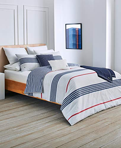 Lacoste Milady Duvet Set Full/Queen Blue