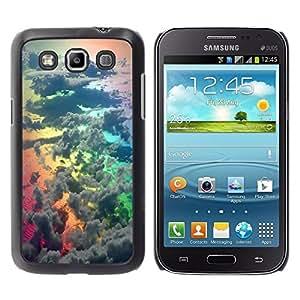 "Pulsar Snap-on Series Teléfono Carcasa Funda Case Caso para Samsung Galaxy Win I8550 , Rainbow Awe Inspiring Naturaleza Dios"""