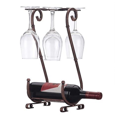 XZ15 Creativo Estante para vinos decoración Vino Rojo ...