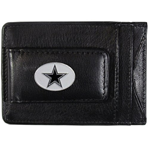 NFL Dallas Cowboys Leather Money Clip Cardholder - Dallas Cowboys Money Clip