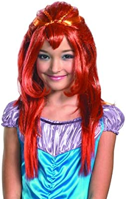 Winx Club Bloom Red Costume Wig Child One Size: Amazon.es ...