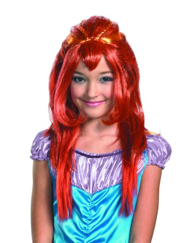 Winx Club Bloom Red Costume Wig Child One Size