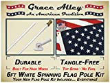 Flagpole Kits With Usa Flags Review and Comparison