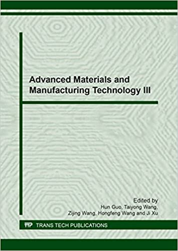 Buy Advanced Materials and Manufacturing Technology III (Key